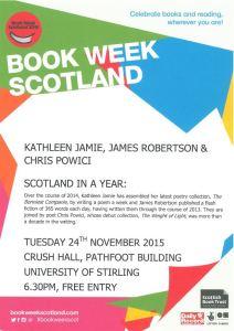 Book Week Scotland Event